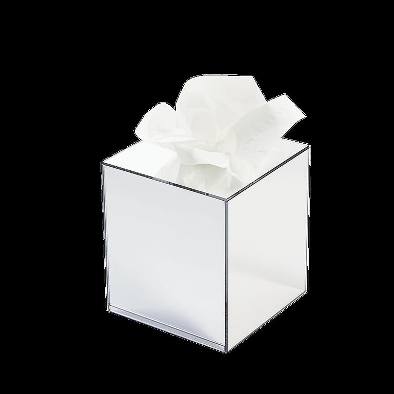 pudełko na chusteczki sześcian kwadratowy